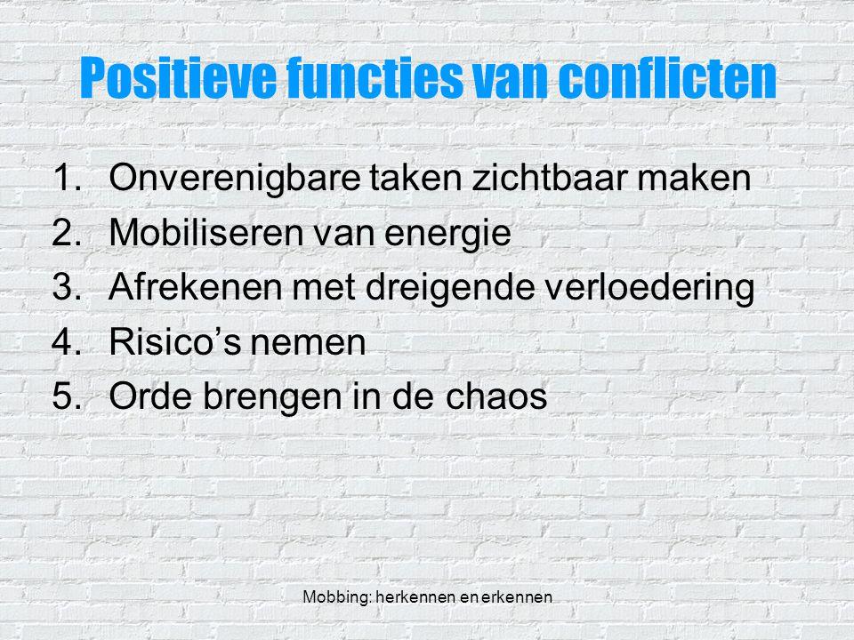 Positieve functies van conflicten