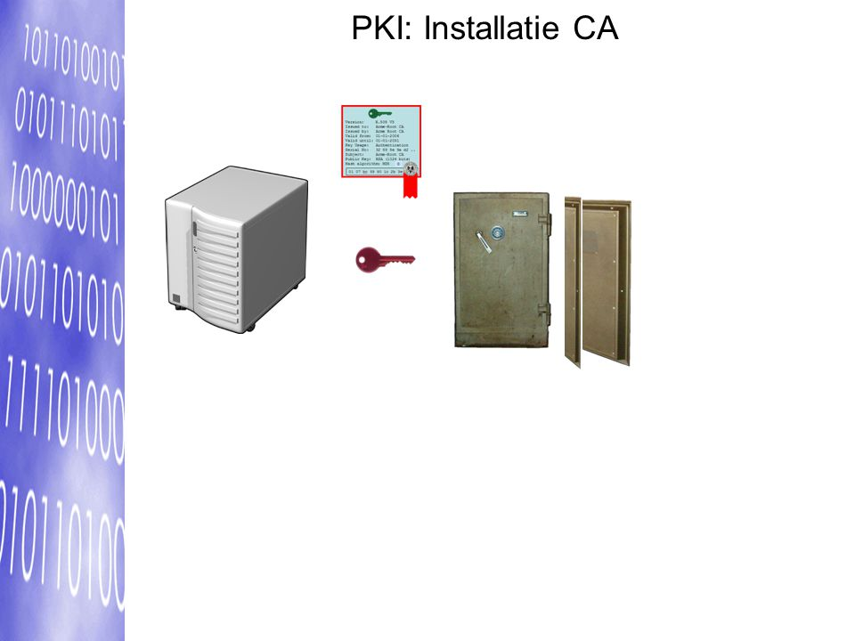 PKI: Installatie CA