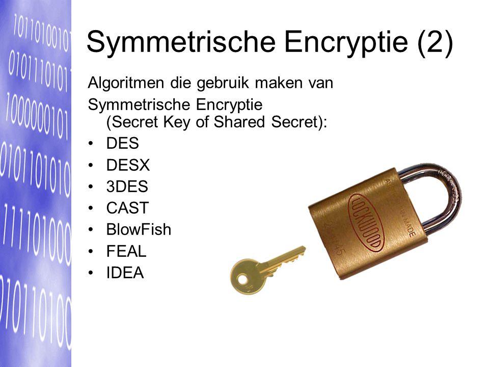 Symmetrische Encryptie (2)