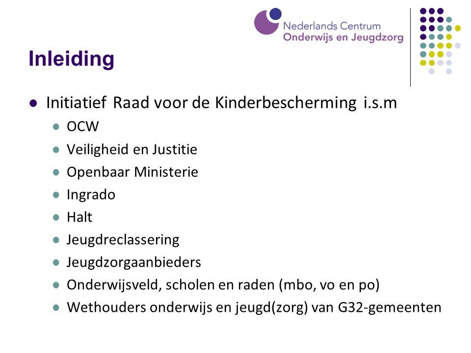 Inleiding Initiatief Raad voor de Kinderbescherming i.s.m OCW