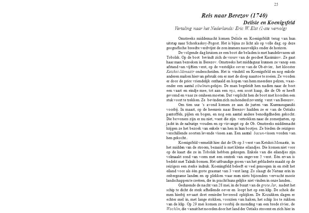 Vertaling naar het Nederlands: Eric W. Elst (1-ste vervolg)