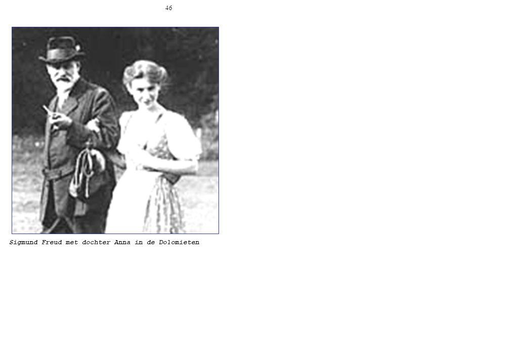 46 Sigmund Freud met dochter Anna in de Dolomieten