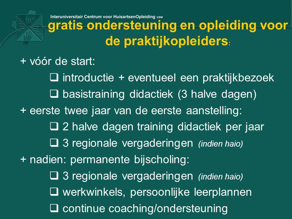 gratis ondersteuning en opleiding voor de praktijkopleiders: