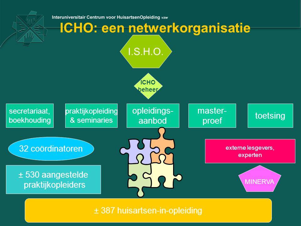 ICHO: een netwerkorganisatie