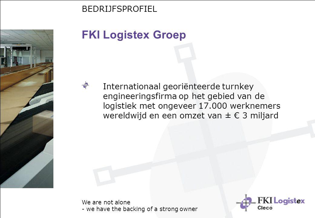FKI Logistex Groep BEDRIJFSPROFIEL