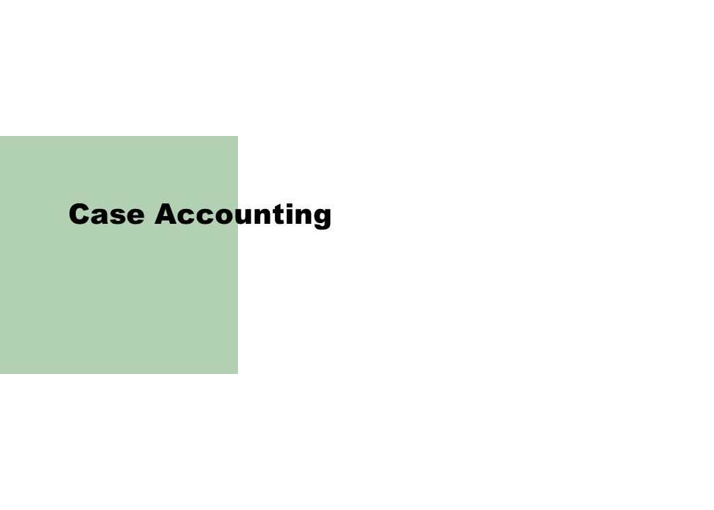 Case Accounting