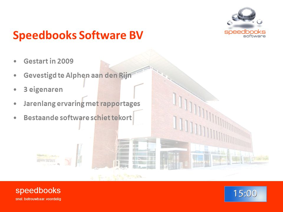 Speedbooks Software BV