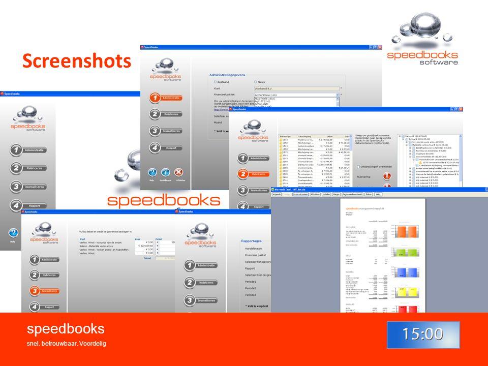 Screenshots speedbooks snel. betrouwbaar. Voordelig 7