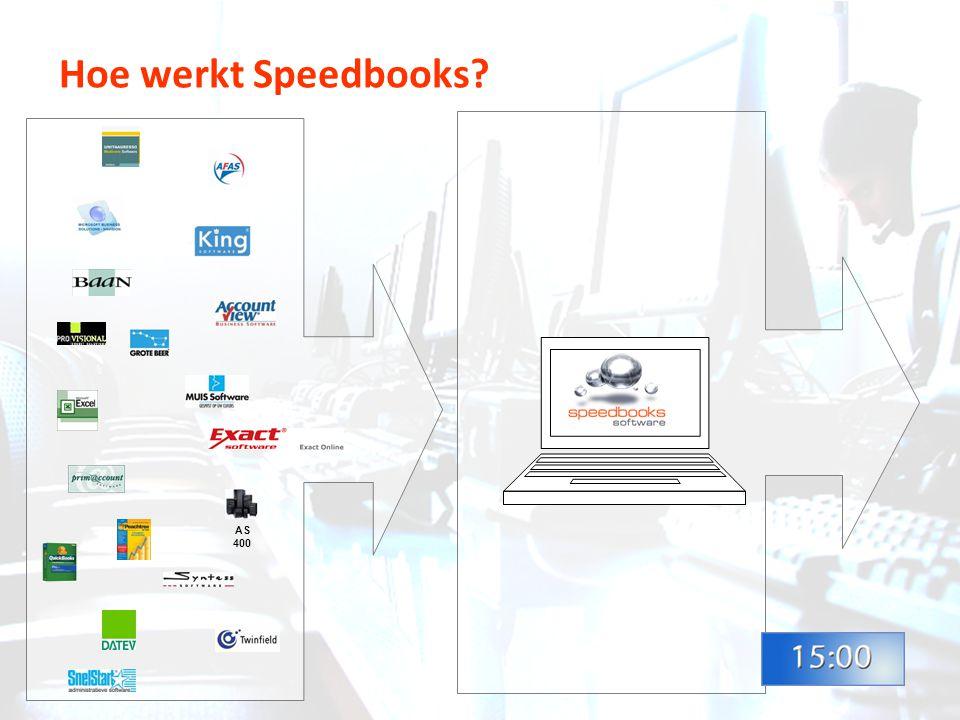 Hoe werkt Speedbooks AS400