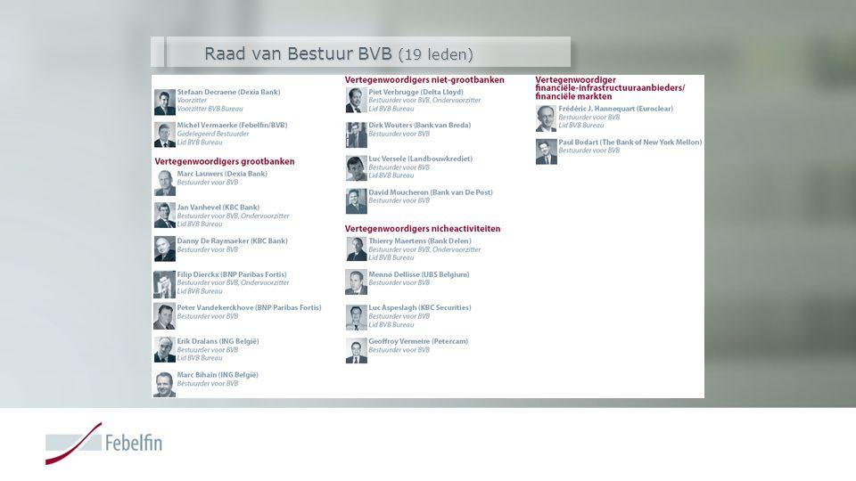 Raad van Bestuur BVB (19 leden)