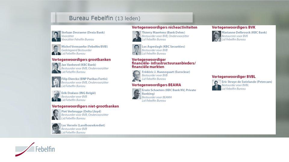 Bureau Febelfin (13 leden)