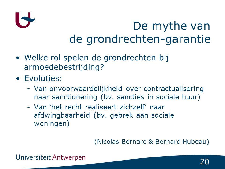 De mythe van de grondrechten-garantie