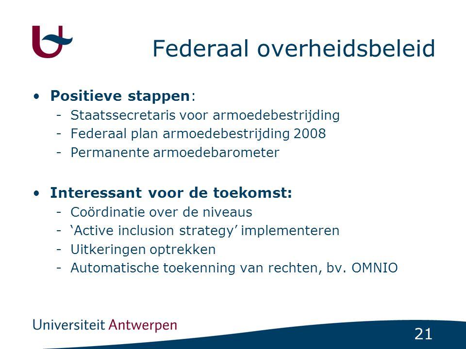 Federaal overheidsbeleid
