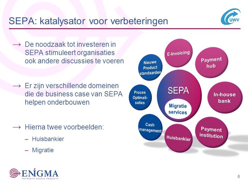 SEPA: katalysator voor verbeteringen