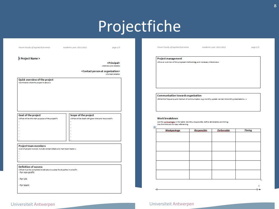 Projectfiche
