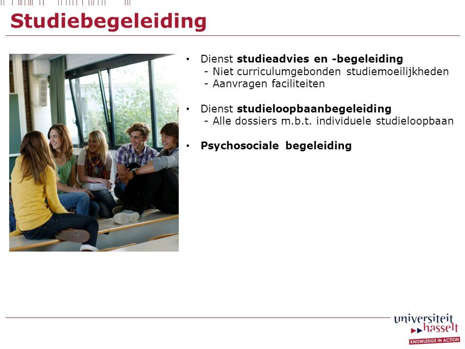 Studiebegeleiding Dienst studieadvies en -begeleiding