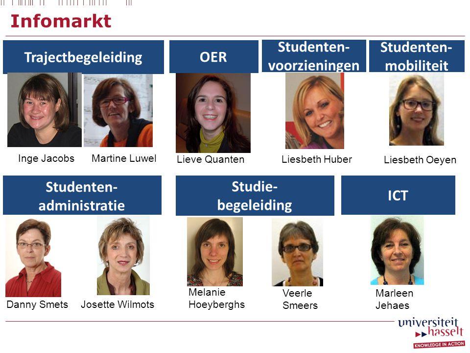 Infomarkt Trajectbegeleiding OER Studenten- voorzieningen Studenten-