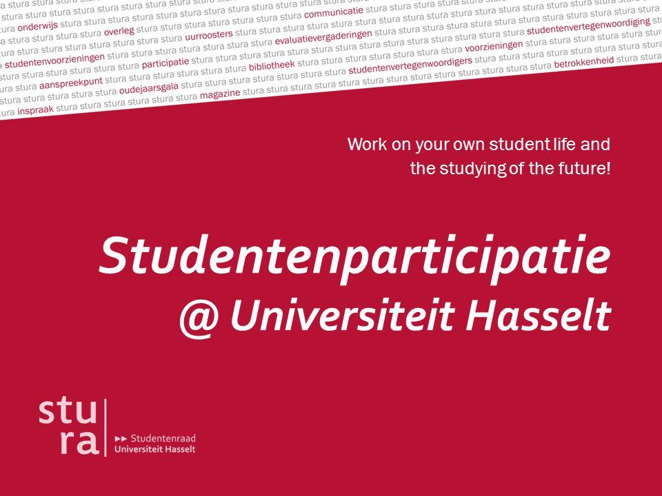 Studentenparticipatie @ Universiteit Hasselt