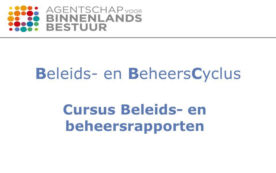 Beleids- en BeheersCyclus