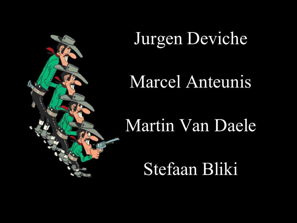 Jurgen Deviche Marcel Anteunis Martin Van Daele Stefaan Bliki