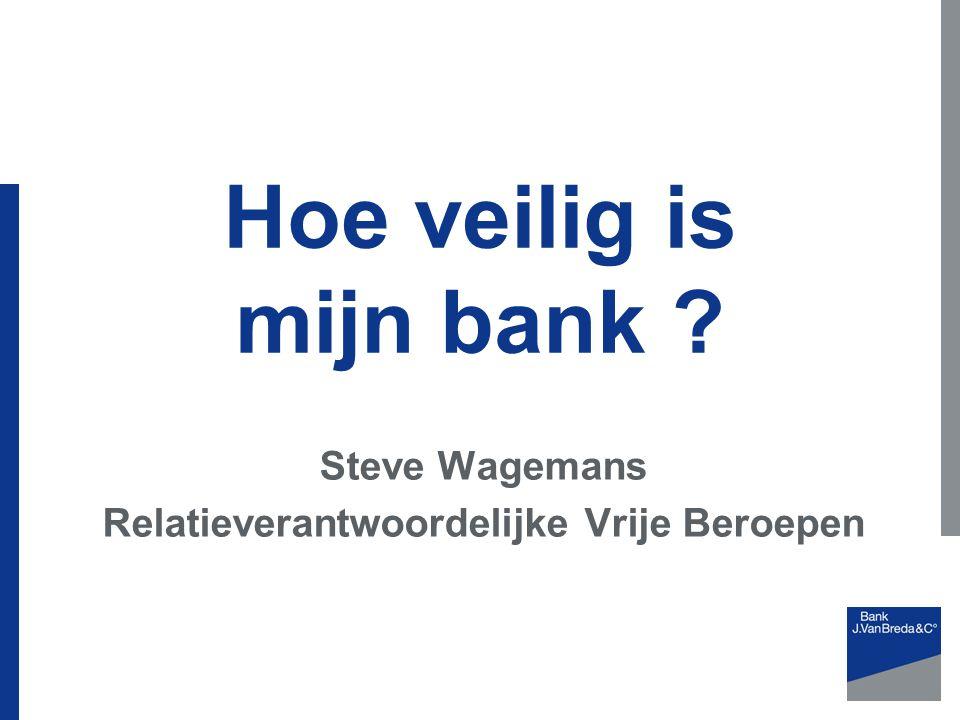 Steve Wagemans Relatieverantwoordelijke Vrije Beroepen