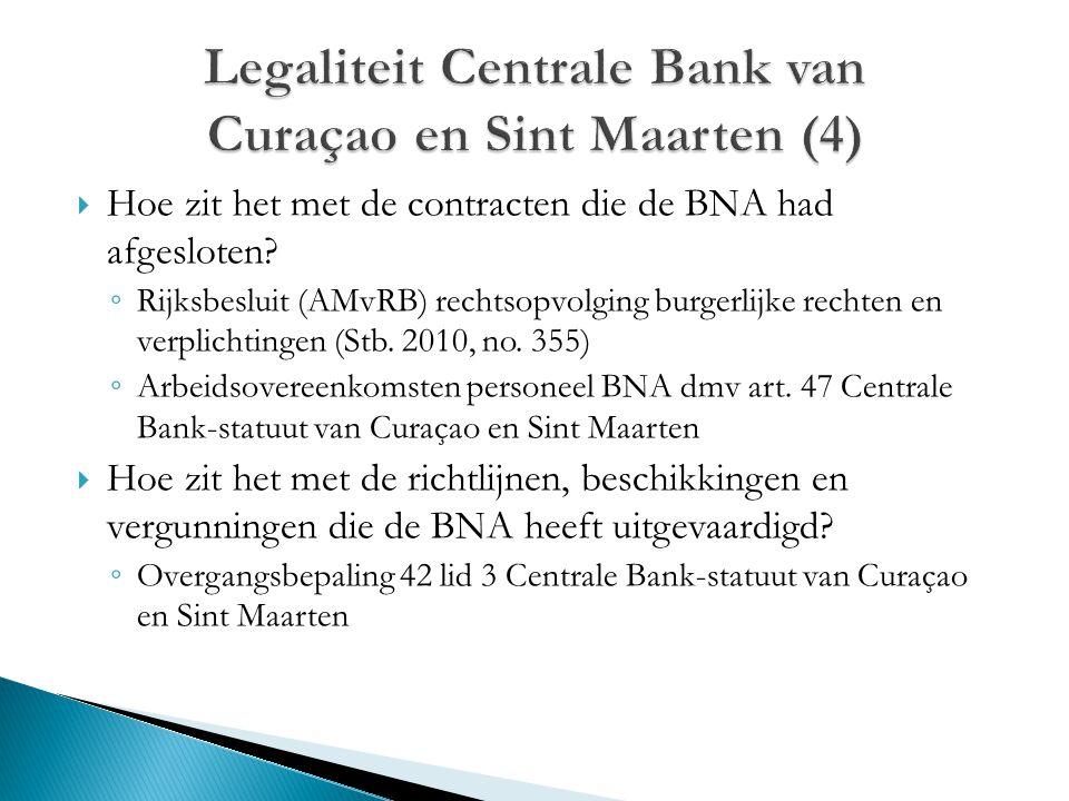 Legaliteit Centrale Bank van Curaçao en Sint Maarten (4)