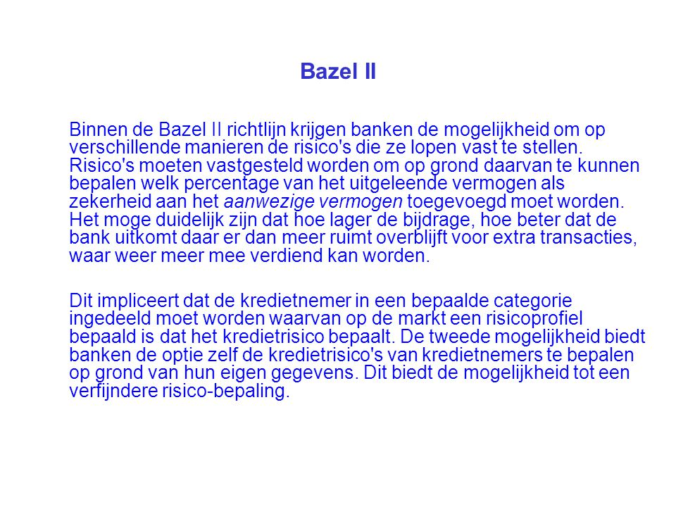 Bazel II