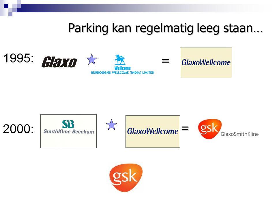 Parking kan regelmatig leeg staan…