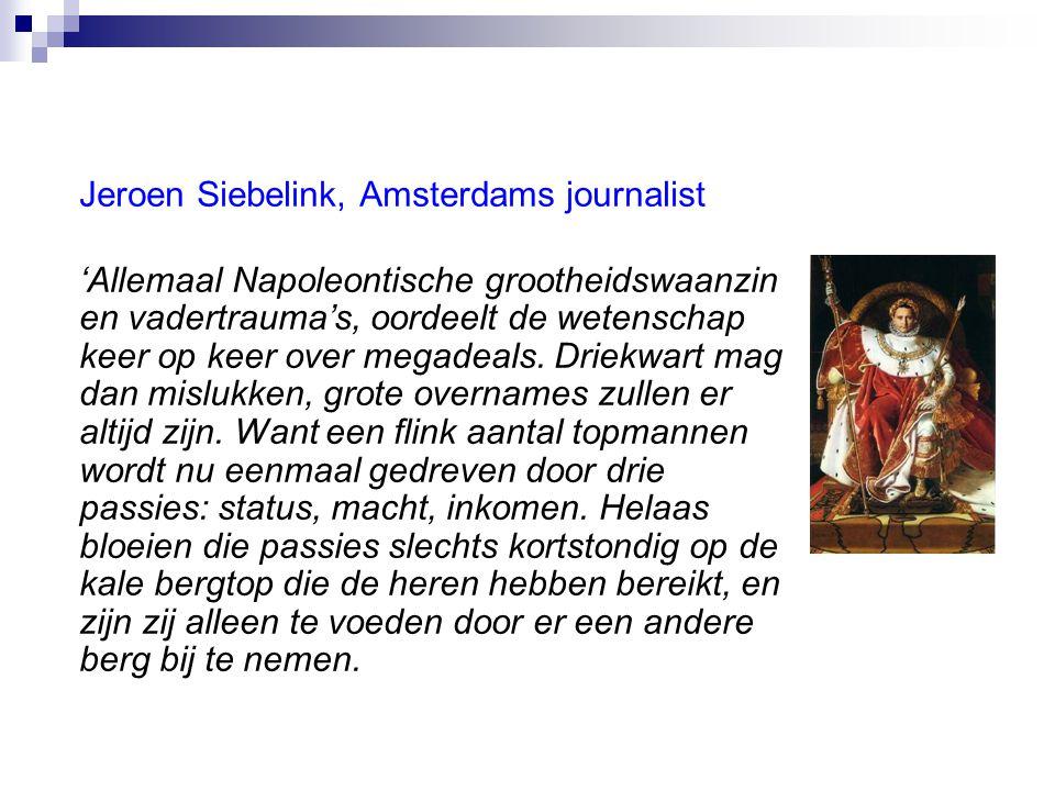 Jeroen Siebelink, Amsterdams journalist