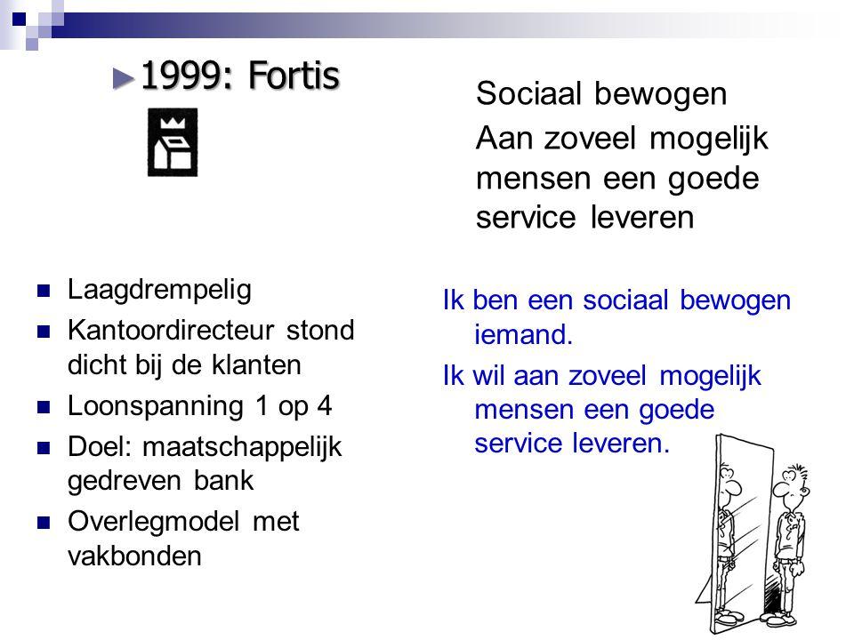 Sociaal bewogen Aan zoveel mogelijk mensen een goede service leveren