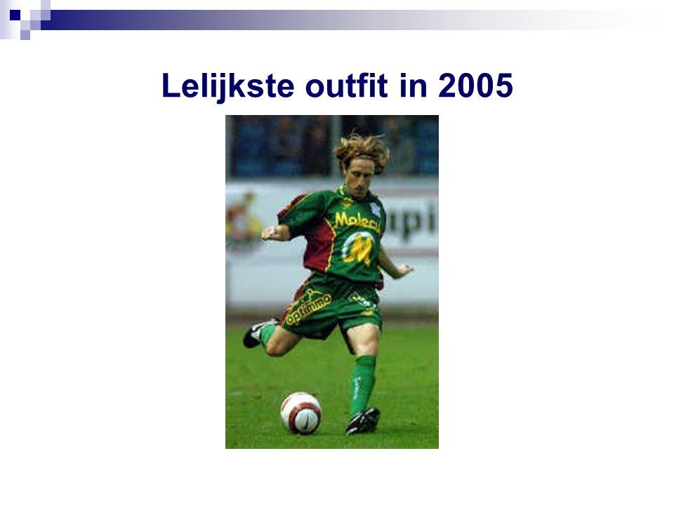 Lelijkste outfit in 2005