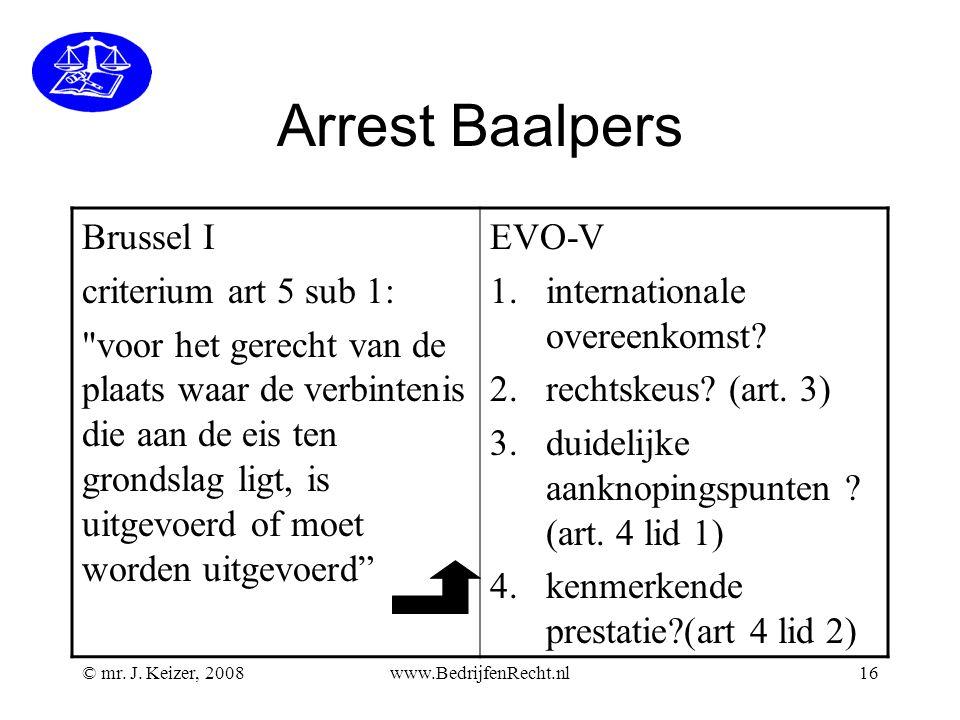 Arrest Baalpers Brussel I criterium art 5 sub 1: