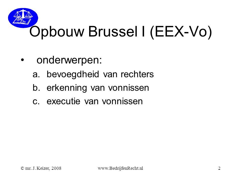 Opbouw Brussel I (EEX-Vo)