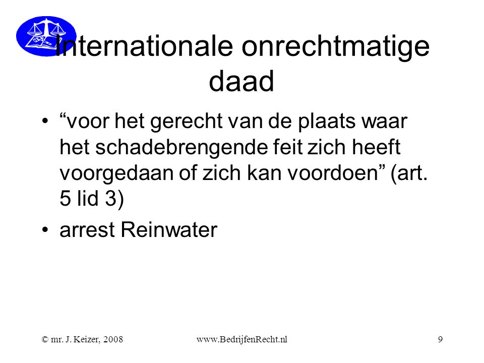 Internationale onrechtmatige daad