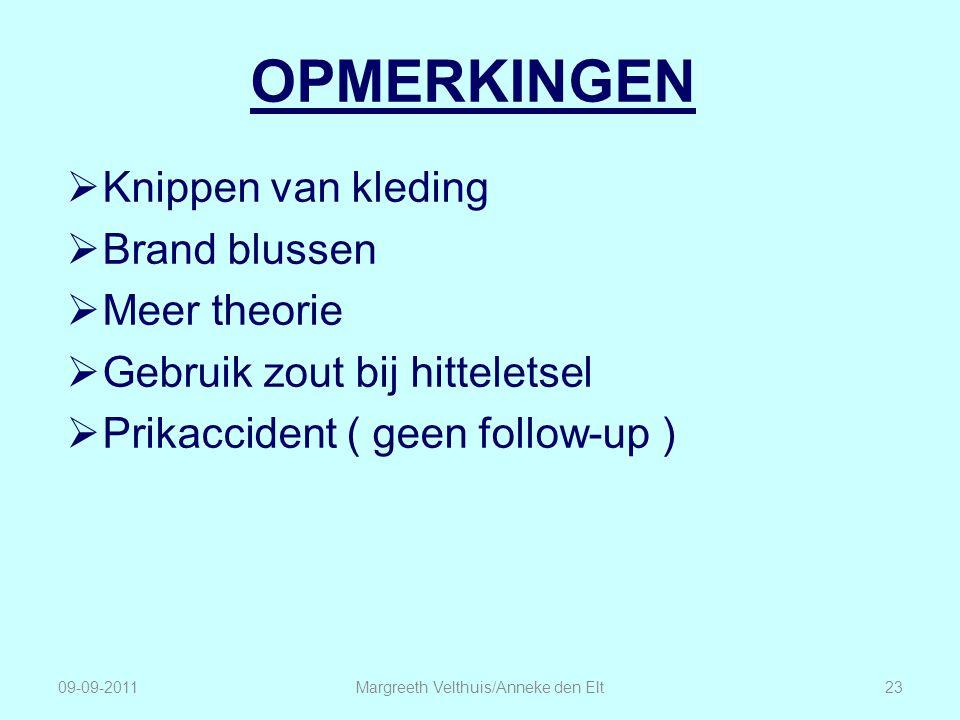 Margreeth Velthuis/Anneke den Elt