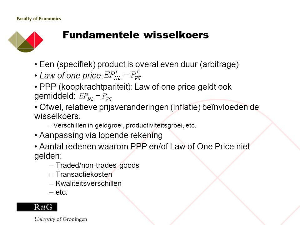 Fundamentele wisselkoers