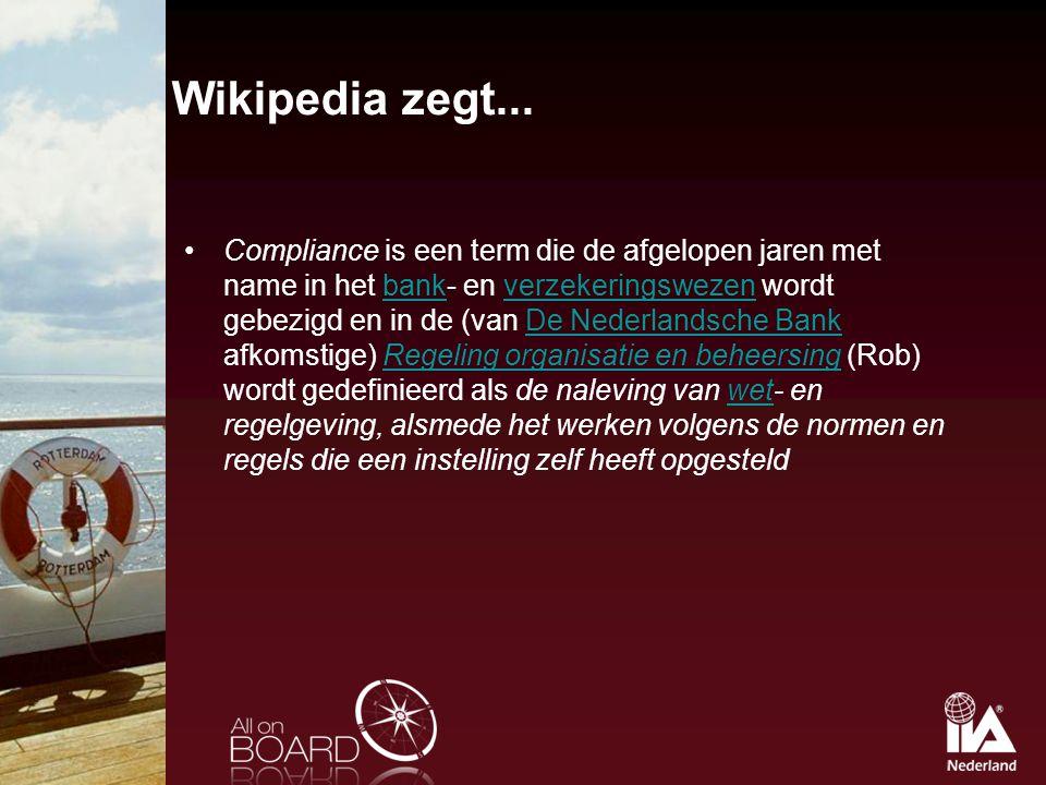 Wikipedia zegt...