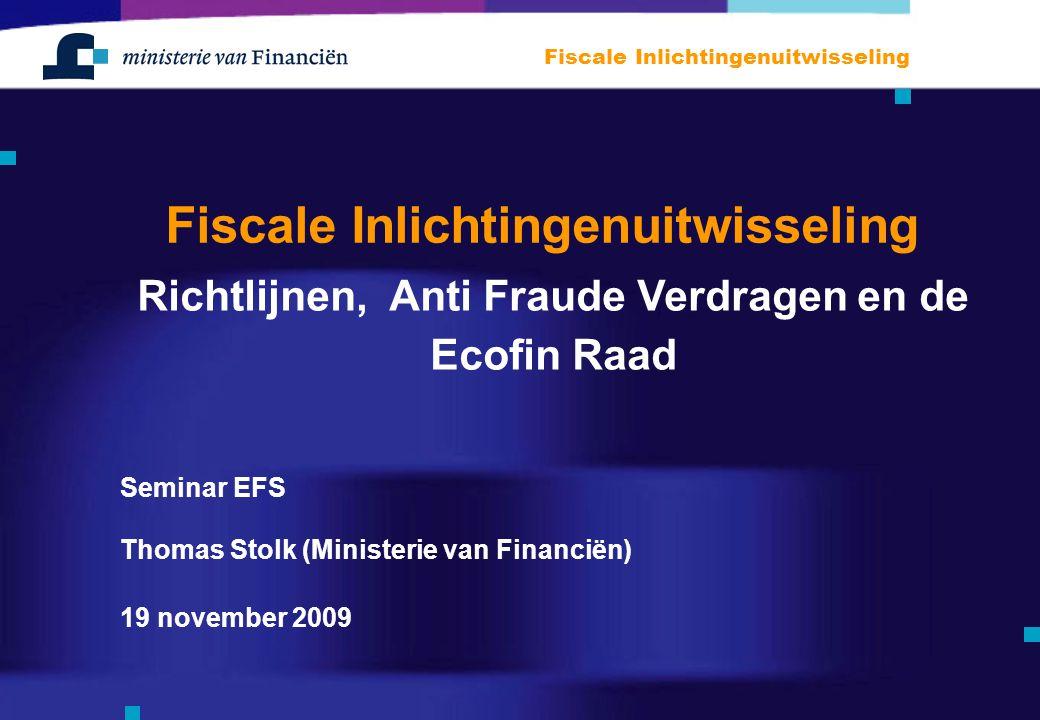 Fiscale Inlichtingenuitwisseling