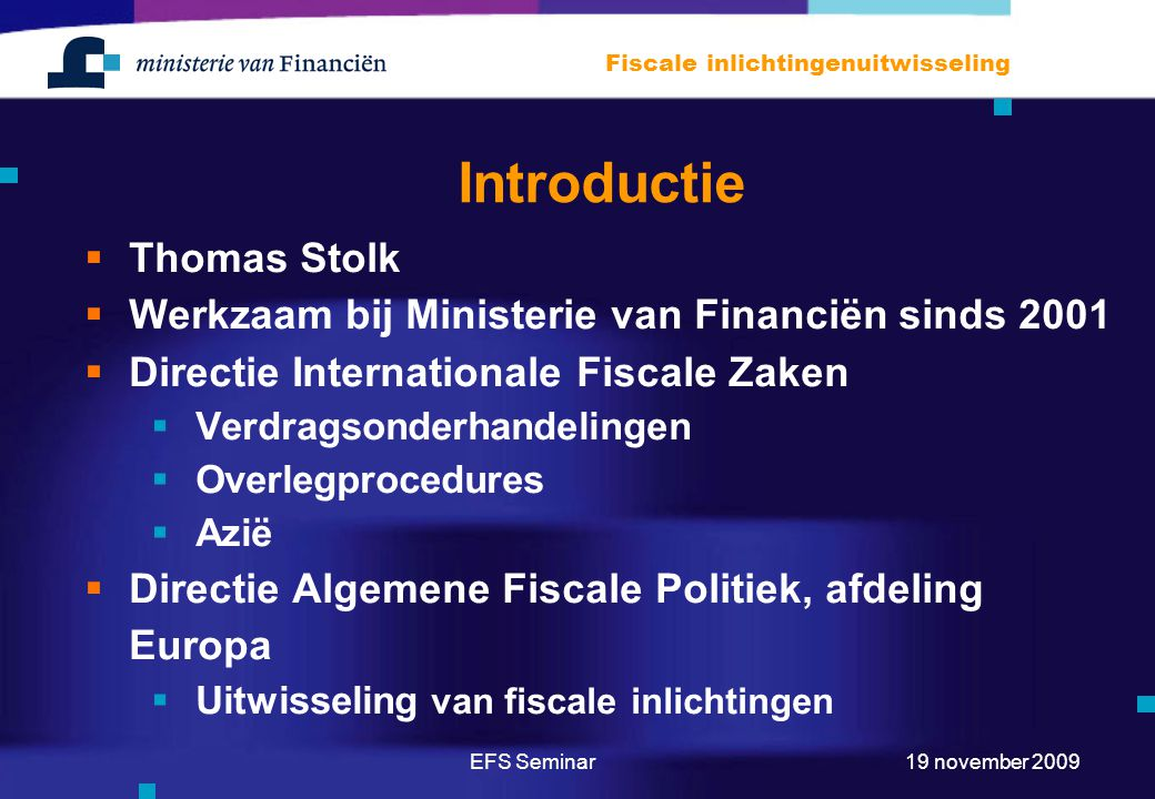 Introductie Thomas Stolk