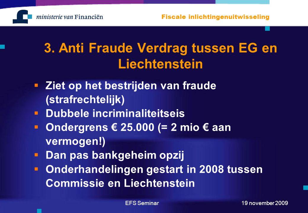 3. Anti Fraude Verdrag tussen EG en Liechtenstein