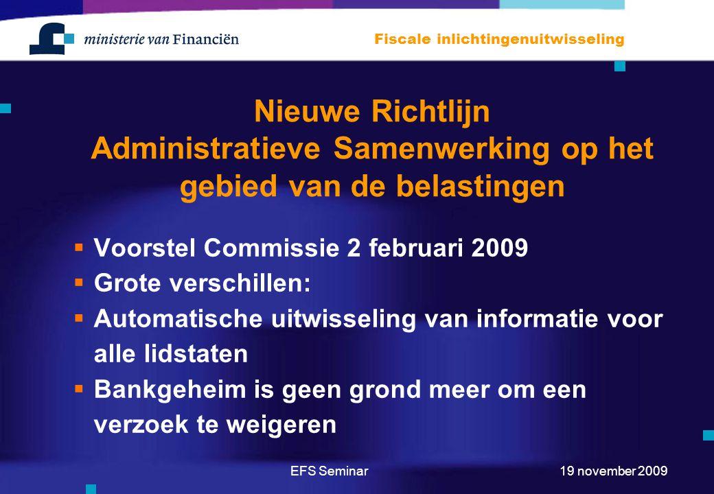 Nieuwe Richtlijn Administratieve Samenwerking op het gebied van de belastingen