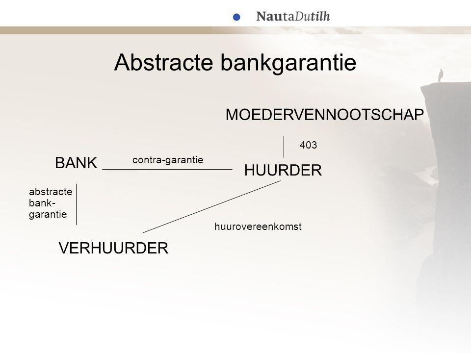 Abstracte bankgarantie