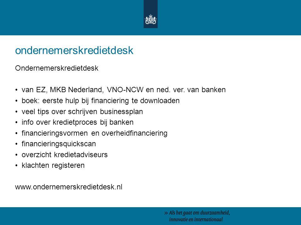 ondernemerskredietdesk