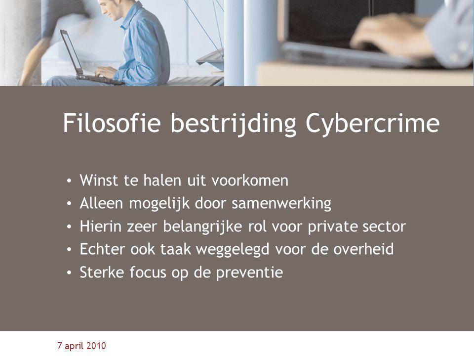 Filosofie bestrijding Cybercrime