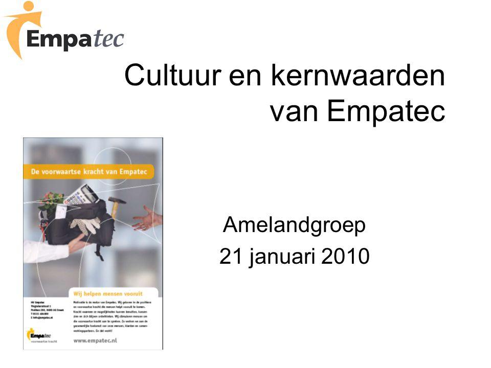 Cultuur en kernwaarden van Empatec