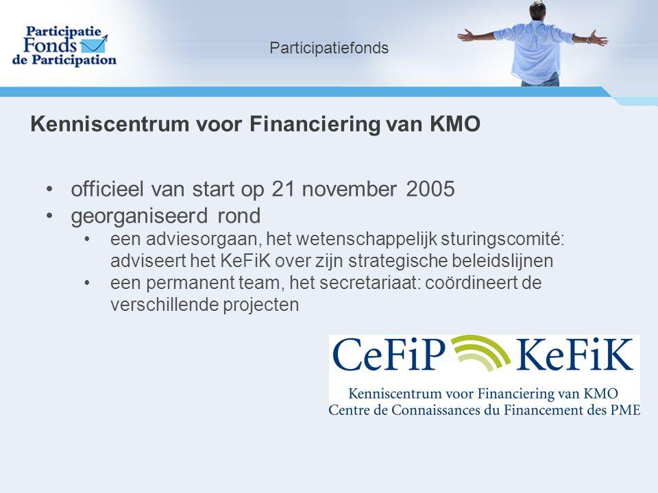 Kenniscentrum voor Financiering van KMO