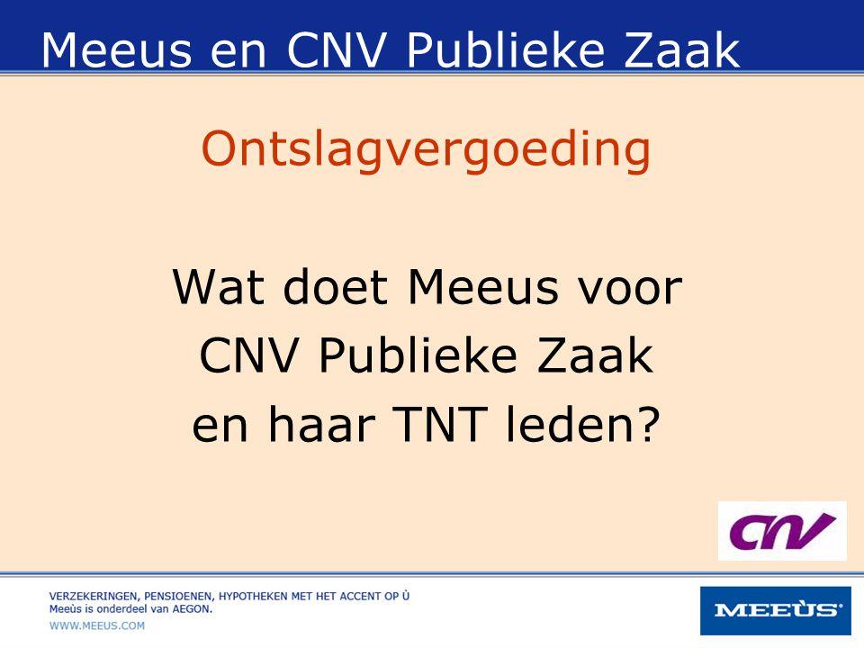 Meeus en CNV Publieke Zaak
