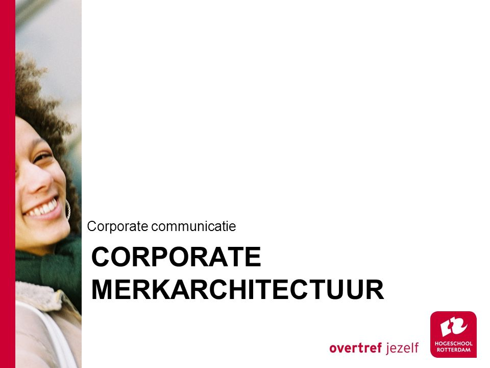 Corporate Merkarchitectuur