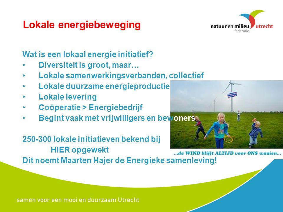 Lokale energiebeweging