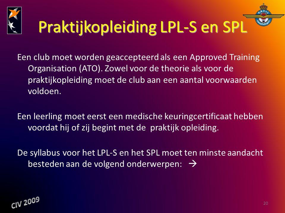 Praktijkopleiding LPL-S en SPL